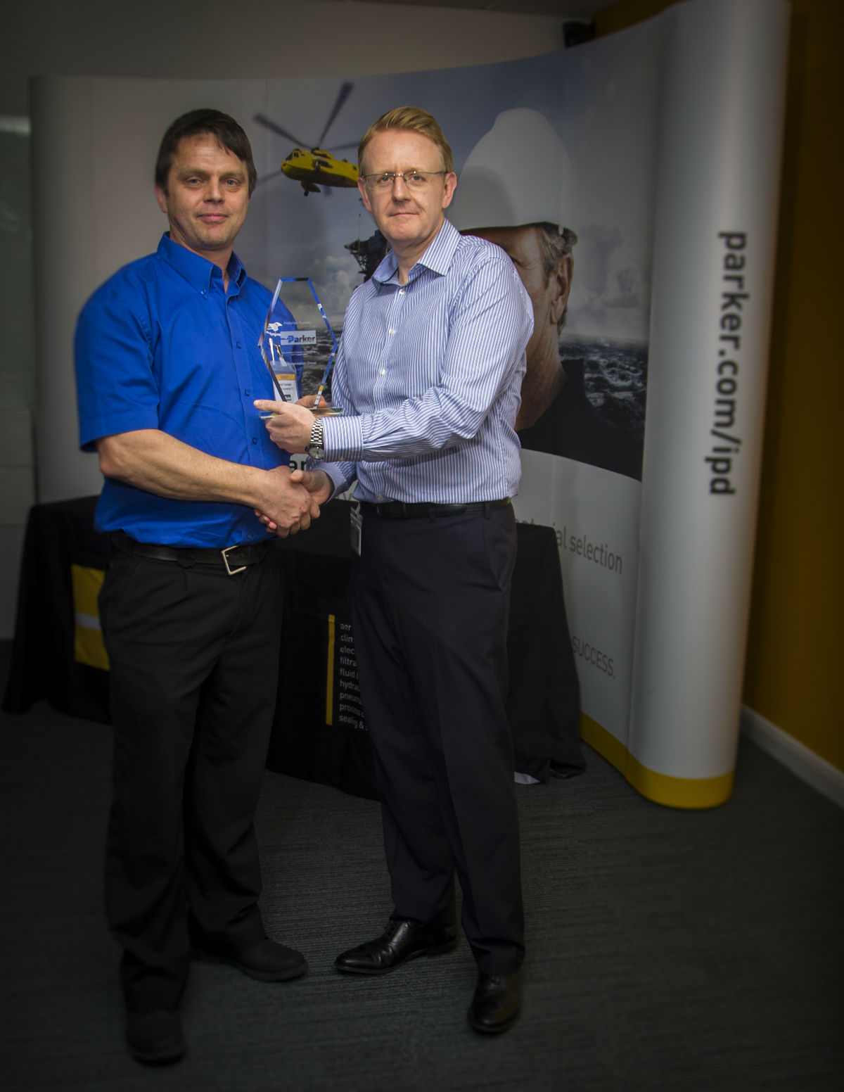 Mann Engineering presented with Approved Supplier Award