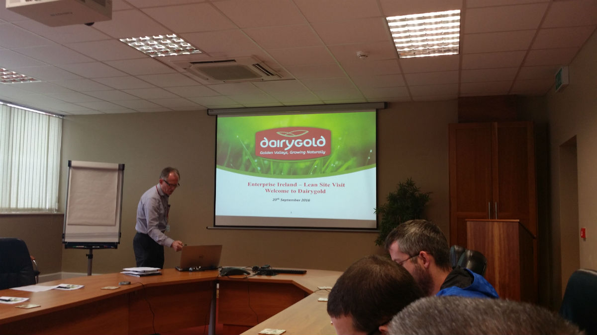 Dairygold Lean Manufacturing Visit