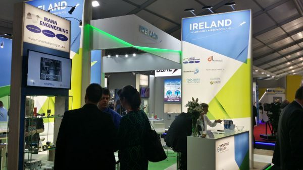Enterprise Ireland visit to International Paris Air Show