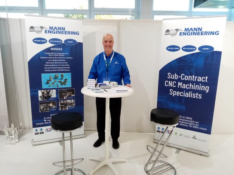 Mann Engineering Stand at AIRTEC19