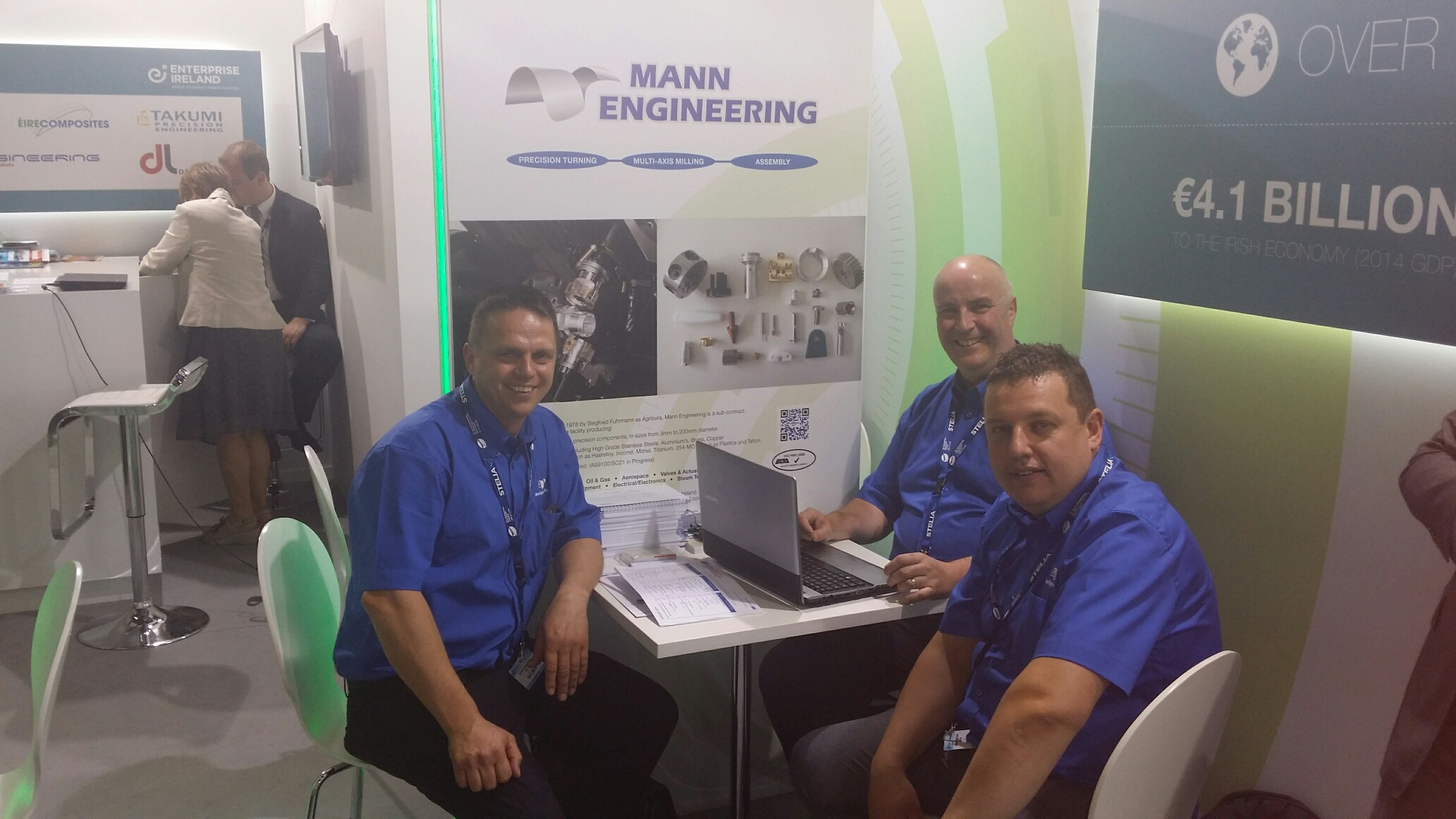 Mann Engineering at Paris Air Show 2015