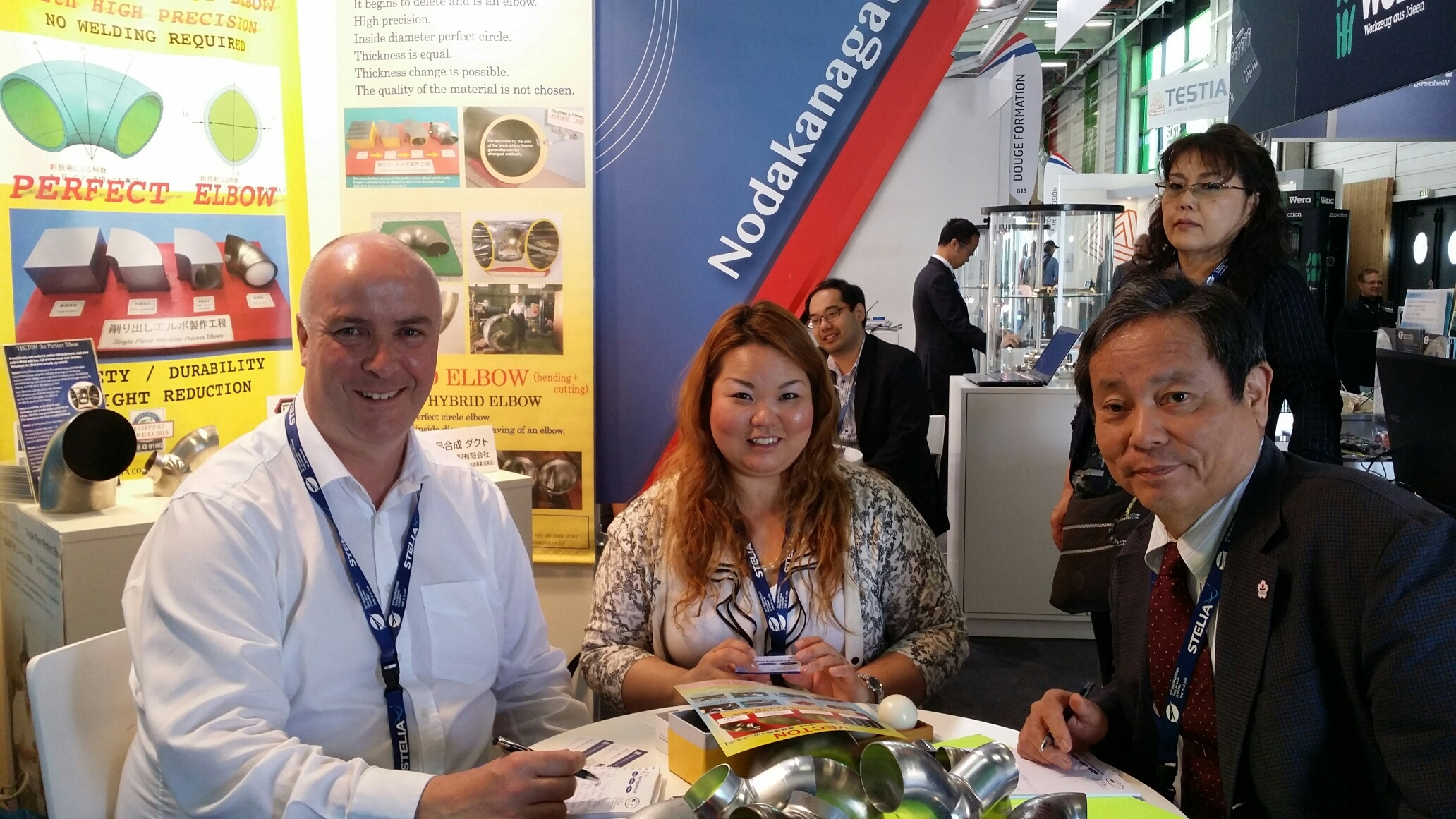 Meeting with a company from Japan