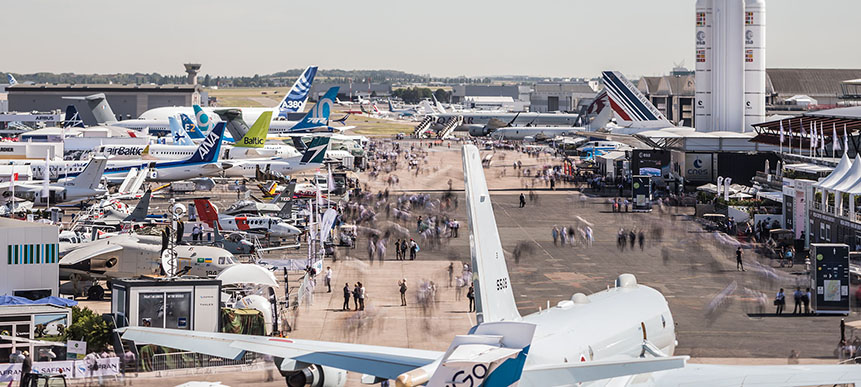 Enterprise Ireland Open Pavilion Farnborough Airshow