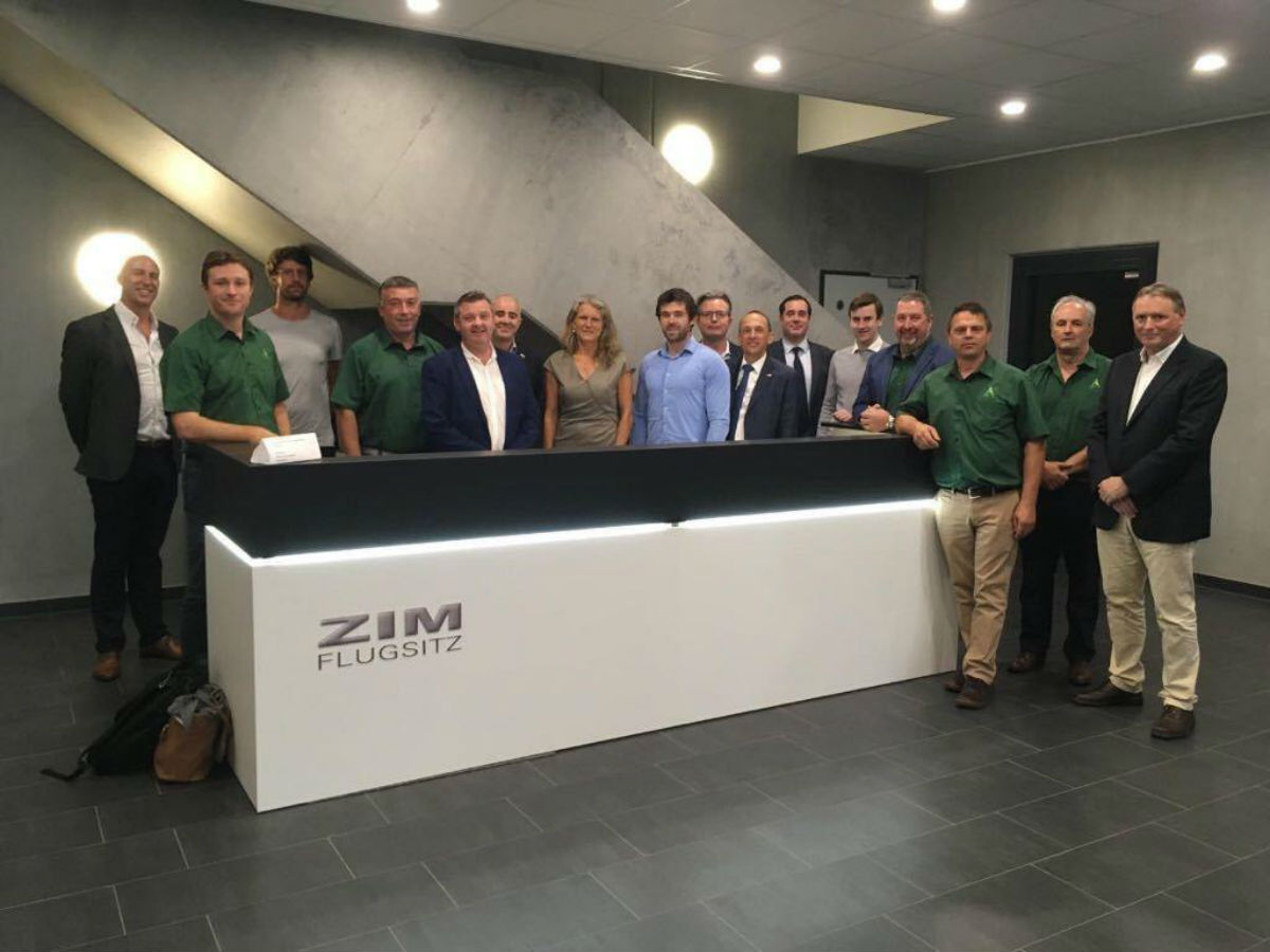 Mann Engineering visit to ZIM
